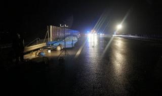 Śmiertelny wypadek na autostradzie A1. Policja szuka świadków zdarzenia